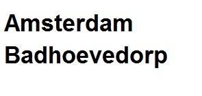 Bij u in amsterdam.badhoevedorp