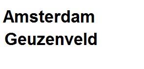 Bij u in amsterdam.geuzenveld