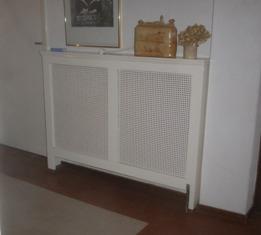 radiator met ombouw