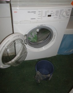 wasmachine defect