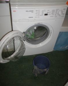 wasmachine defect